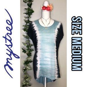 Mystree short sleeve long T-shirt/dress